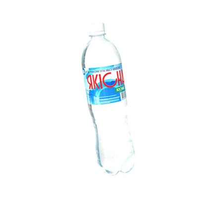 """""""Якісна"""" - Артезианская питьевая (негазированная) 0,5  л"""